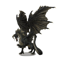 D&D Icons of the Realms: Adult Black Dragon Premium Figure (PREORDER)