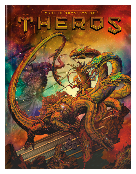 Dungeons & Dragons 5e Mythic Odysseys of Theros Alt-Art Cover (PREORDER)