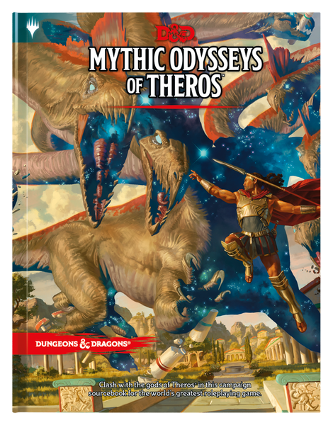 Dungeons & Dragons 5e Mythic Odysseys of Theros Regular Cover (PREORDER)