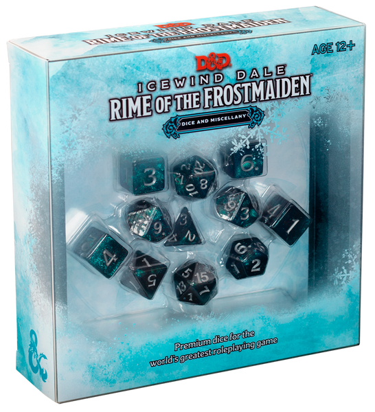 Dungeons & Dragons 5e Icewind Dale Rime of the Frostmaiden Dice and Miscellany