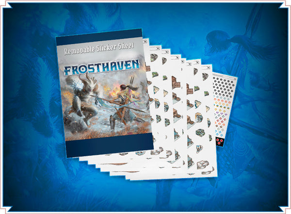 Frosthaven Removable Sticker Set (PREORDER)