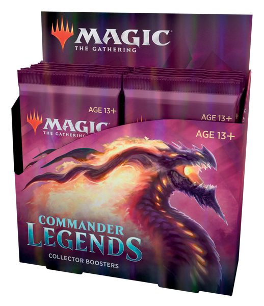 MtG Commander Legends Collector Booster Pack Display (PREORDER)