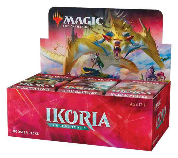 MtG Ikoria Lair of Behemoths Booster Display