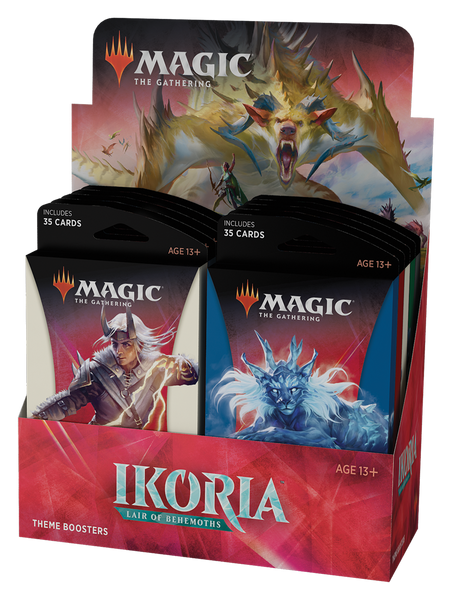 Mtg Ikoria Lair of Behemoths Theme Booster