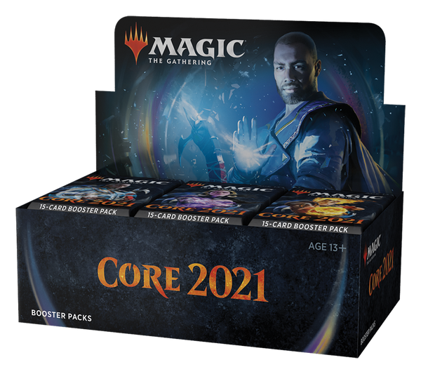 MtG Core 2021 Booster Display