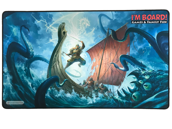 I'm Board Playmat: Viking Attack