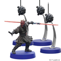 Star Wars Legion Darth Maul and Sith Probe Droids