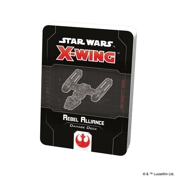 Star Wars X-Wing 2nd Rebel Alliance Damage Deck
