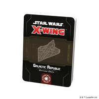Star Wars X-Wing 2nd Galactic Republic Damage Deck