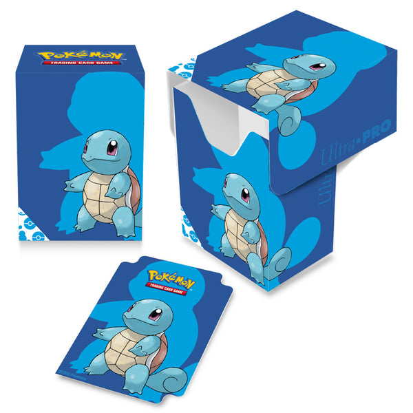 UP Deck Box Pokemon Squirtle Full View