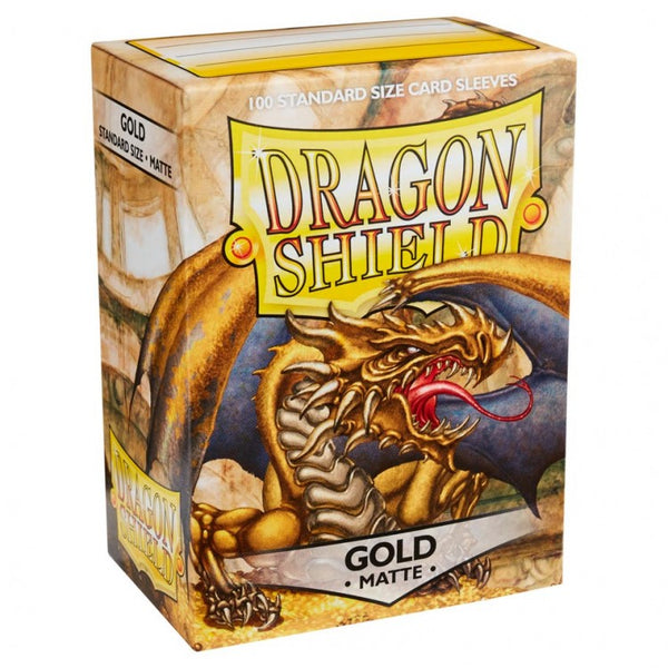 Dragon Shield Matte Gold Sleeves (100)