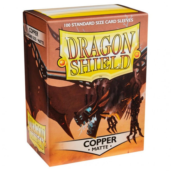 Dragon Shield Matte Copper Sleeves (100)