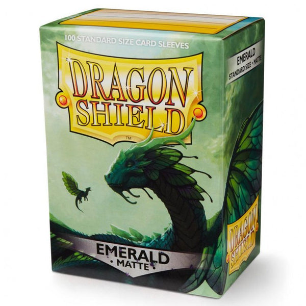Dragon Shield Matte Emerald Sleeves (100)