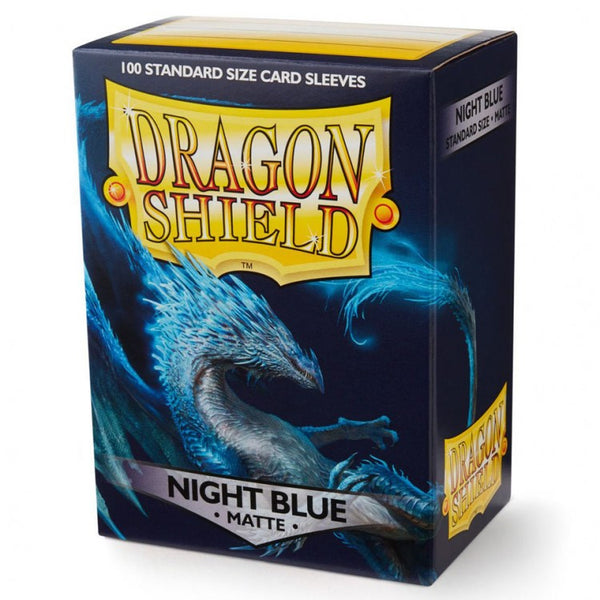 Dragon Shield Matte Night Blue Sleeves (100)