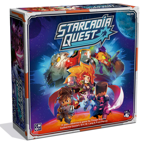 Starcadia Quest: Space Marauders Kickstarter Bundle