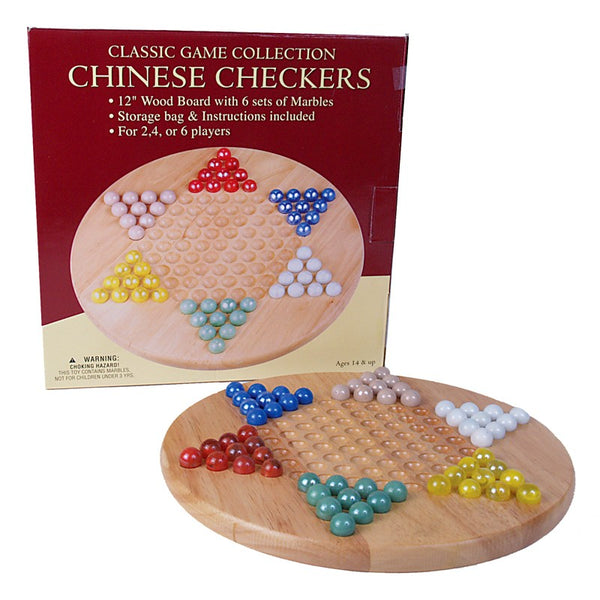 Chinese Checkers w/ Marbles