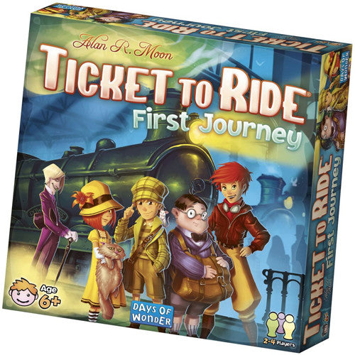 Ticket to Ride First Journey (U.S.)