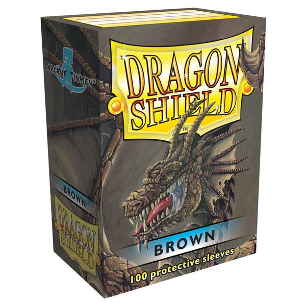 Dragon Shield Classic Brown Sleeves (100)