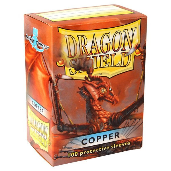 Dragon Shield Classic Copper Sleeves (100)
