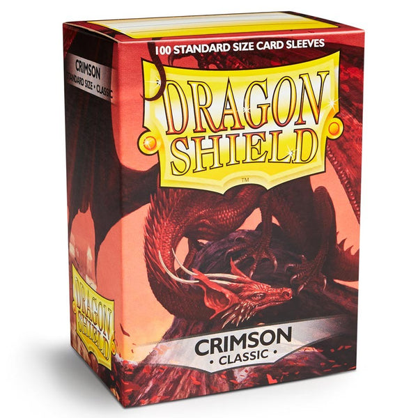 Dragon Shield Classic Crimson Sleeves (100)
