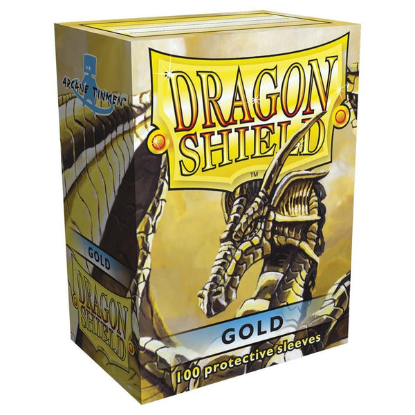 Dragon Shield Classic Gold Sleeves (100)