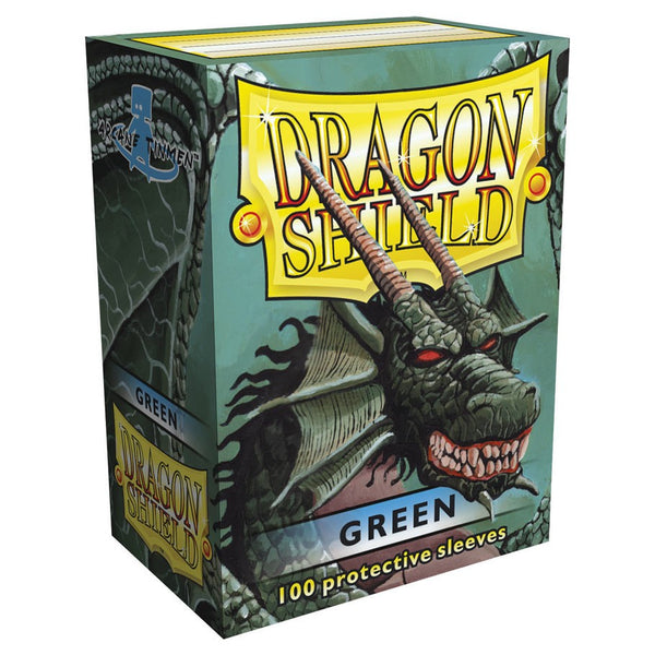 Dragon Shield Classic Green Sleeves (100)