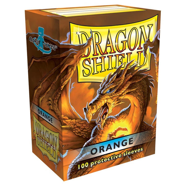 Dragon Shield Classic Orange Sleeves (100)