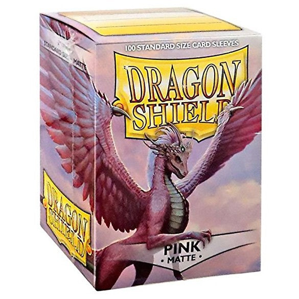 Dragon Shield Matte Pink Sleeves (100)