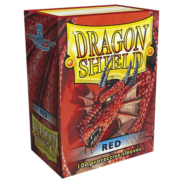 Dragon Shield Classic Red Sleeves (100)