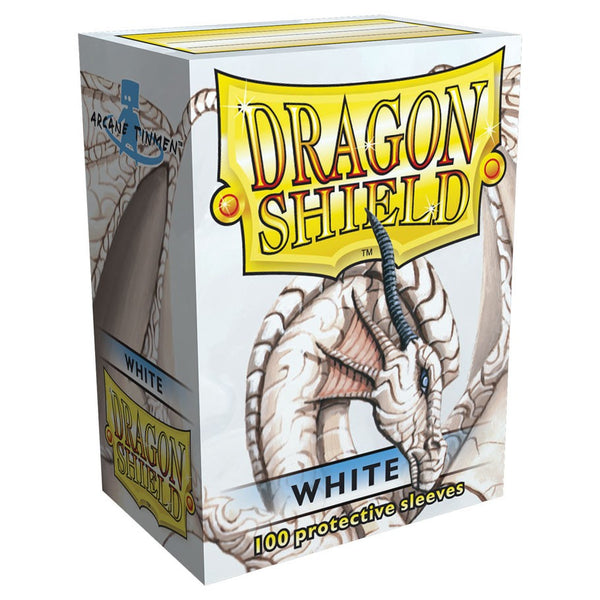 Dragon Shield Classic White Sleeves (100)