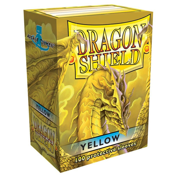 Dragon Shield Classic Yellow Sleeves (100)