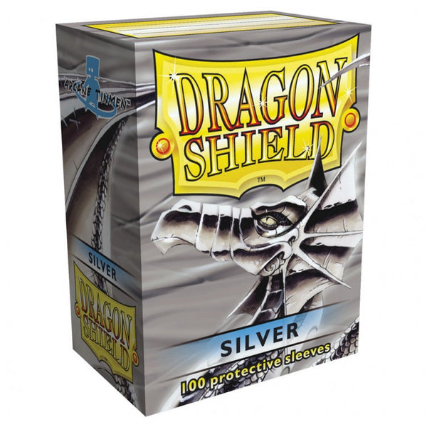 Dragon Shield Classic Silver Sleeves (100)