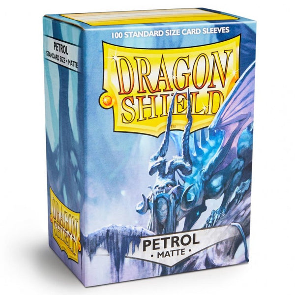 Dragon Shield Matte Petrol Sleeves (100)