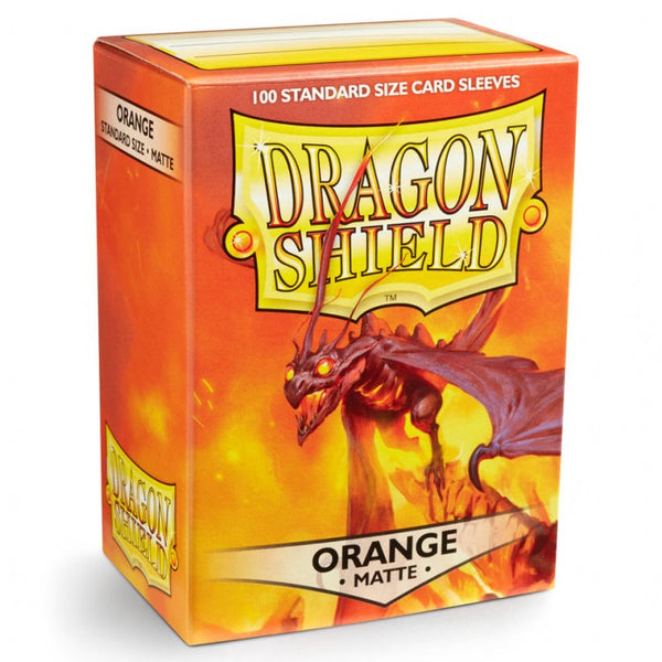 Dragon Shield Matte Orange Sleeves (100)
