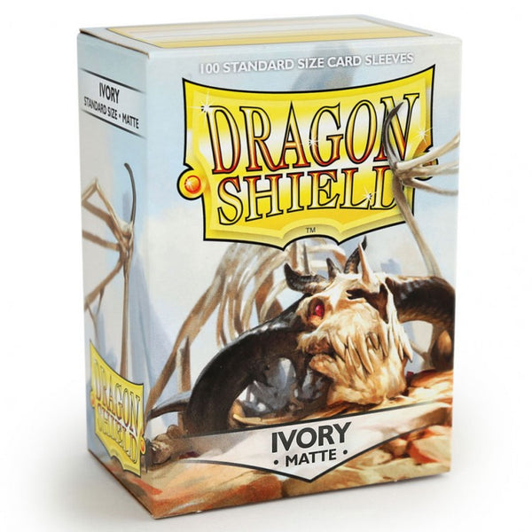 Dragon Shield Matte Ivory Sleeves (100)
