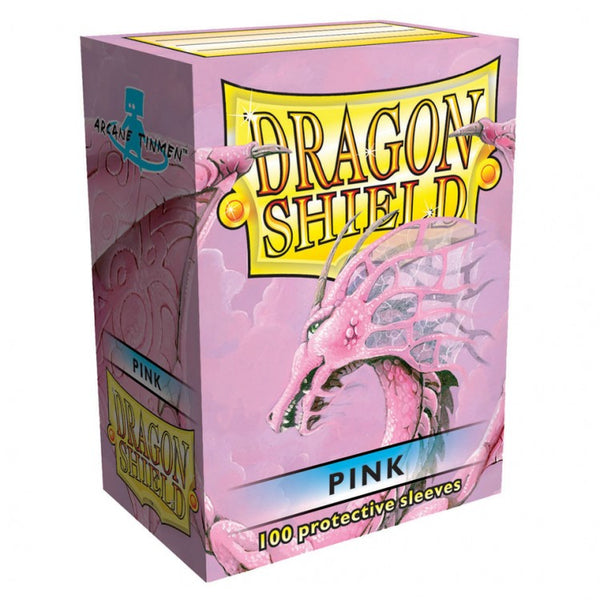 Dragon Shield Classic Pink Sleeves (100)