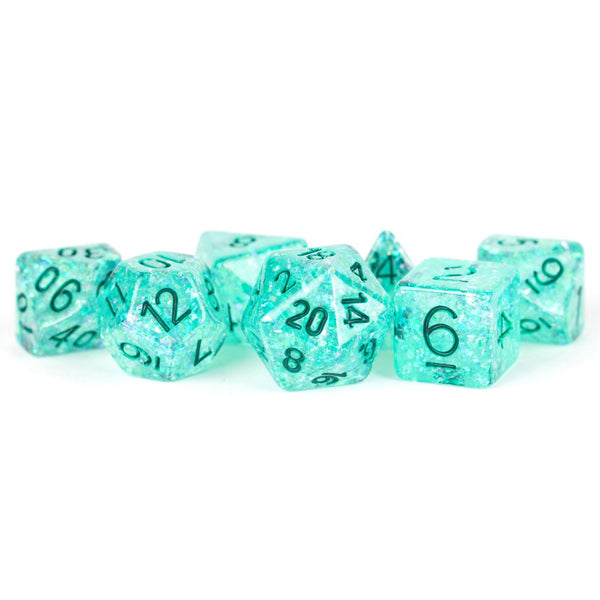 MDG 7-Set Flash Dice: Teal