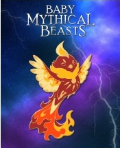 Baby Mythical Beast Enamel Pin: Phoenix (Color Variants)