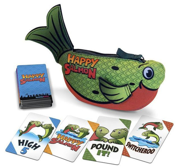 Happy Salmon Green Fish