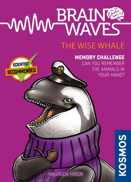 Brain Waves Wise Whale