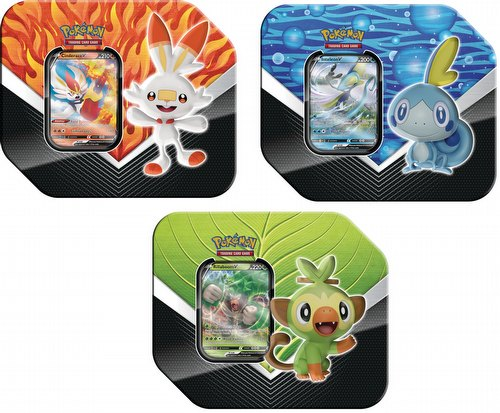 Pokemon Galar Partners Tin