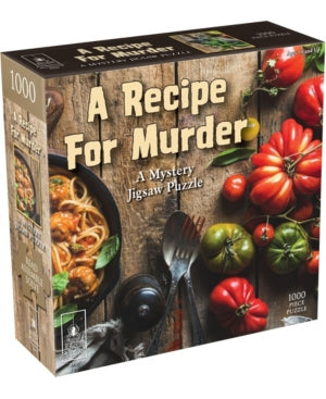 1000 A Recipe for Murder Mystery Jigsaw Puzzle