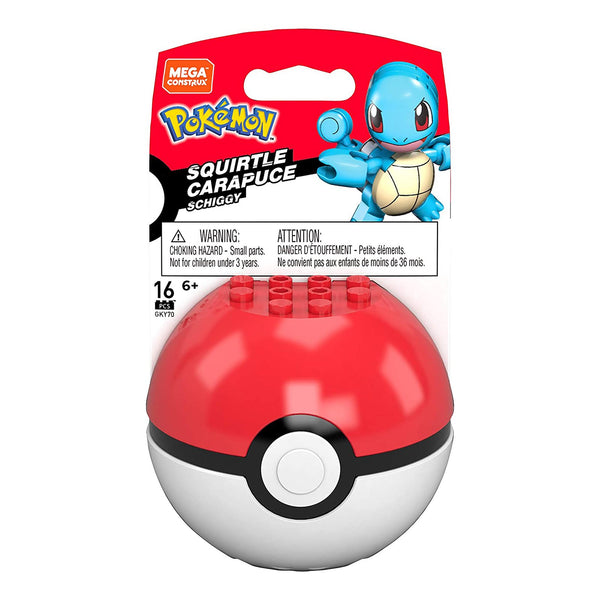 Mega Construx Pokeball Squirtle