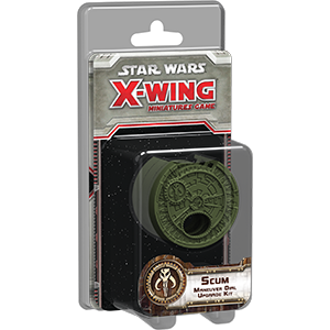Star Wars X-Wing 1st Scum Maneuver Dial Upgrade Kit