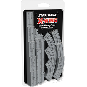 Star Wars X-Wing 2nd Deluxe Movement Tools and Range Ruler