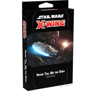 Star Wars X-Wing 2nd Never Tell Me the Odds Obstacles Pack
