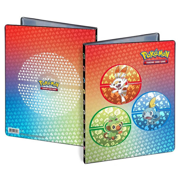 Binder 9pkt Portfolio Pokemon Sword & Shield Galar