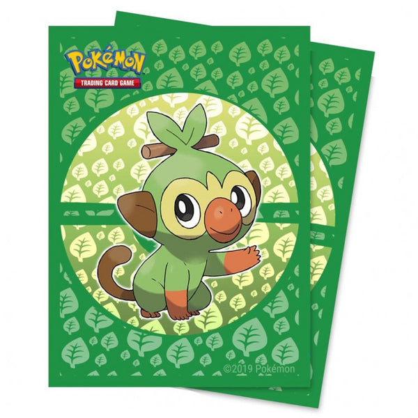 Pokemon Sleeves Sword and Shield Galar Starters Grookey (65)
