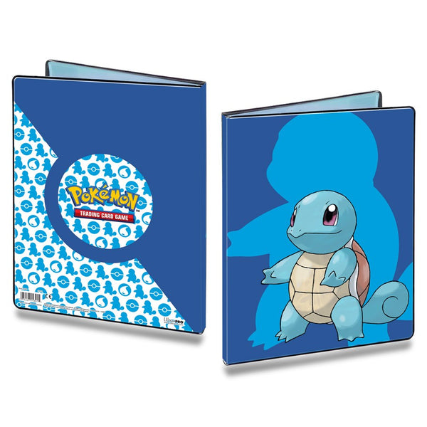 Binder 9pkt Portfolio Pokemon Sword & Shield Squirtle