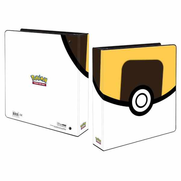 "Binder 9pkt 2"" Album Pokemon Ultra Ball"